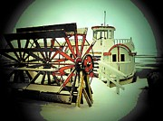 Dixie Framed Prints - Dixie Boat Snow Framed Print by Michael L Kimble