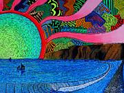 Dizzy Dana Point Print by Sam Bernal