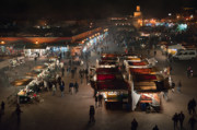 Arabs Framed Prints - Djemaa el Fna Framed Print by Daniel Kocian