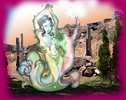 Djinn Prints - Djinn Dance Print by Mark Northcott