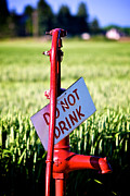Aperture Photos - Do Not Drink by Janna Kern