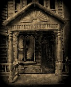 Haunted House Photo Posters - Do Not Enter Poster by John Malone