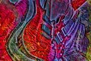 Do Not Let The Music Die Digital Guitar Art By Steven Langston Print by Steven Lebron Langston