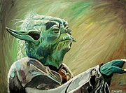 Sith Paintings - Do Or Do Not    There Is No Try by Jeremy Moore