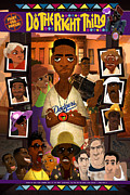 Do The Right Thing Print by Nelson Dedos Garcia