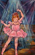 Stage Lights Paintings - Do Your Own Dance by Susi LaForsch
