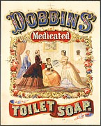Advertisment Posters - Dobbins Toilet Soap Poster by Pg Reproductions