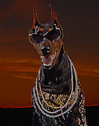Photography Into Art Photo Prints - Doberman Style Print by Brian Graybill