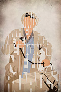 Emmett Prints - Doc. Brown Print by Ayse T Werner