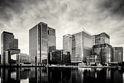 A Souppes - Docklands Black and White