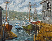 Richard T Pranke - Dockside Boats by...