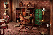 Noble Art - Doctor - Desk - The physicians office  by Mike Savad