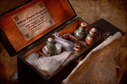 Civil War Photos - Doctor - Hospital knapsack  by Mike Savad