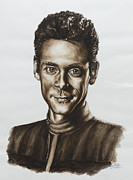 Space Exploration Originals - doctor Julian Bashir Star Trek DS9 by Giulia Riva