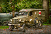 World War Ii Photo Posters - Doctor - MASH Unit  Poster by Mike Savad