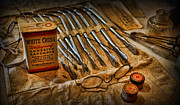 Bandages Prints - Doctor - Medical Suture Kit Print by Lee Dos Santos