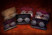 Antique Art - Doctor - Optometrist - Array of Opticals by Mike Savad