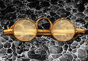 Glasses Photo Metal Prints - Doctor - Optometrist - Glasses sold here  Metal Print by Mike Savad