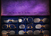 Goggles Prints - Doctor - Optometrist - Many styles to choose from  Print by Mike Savad