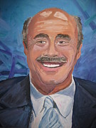 Stella Sherman Art - Doctor Phil by Stella Sherman