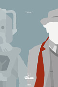 Doctor Who 50th Anniversary Poster Set Seventh Doctor Print by Jeff Bell
