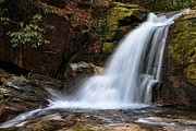 Water Fall Prints - Dodd Creek Lower Falls Print by Brian Kreuser