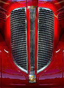 Classic Car Photography Posters - Dodge Brothers Grille Poster by Jill Reger