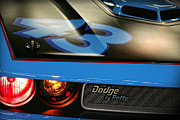 Racing Number Framed Prints - Dodge By Petty Framed Print by Gordon Dean II