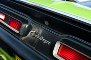 Magnum Photos - Dodge Challenger 440 Magnum RT Taillight Emblem by Jill Reger