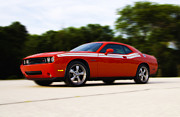 Dodge Digital Art Prints - Dodge Challenger Print by Bill Cannon