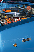 426 Prints - Dodge Coronet 426 Hemi Head Engine Print by Jill Reger