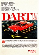 60s Photos - Dodge Dart by Benjamin Yeager