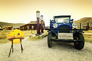 Bridgeport California Framed Prints - Dodge Graham 1927 In Old Bodie California Mining Town Framed Print by Kriss Russell