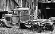 Barn In The Woods Photos - Dodge In The Country by Dan Sproul