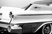Autos Drawings - Dodge Matador 1960 by David M Davis