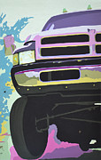 Grill Paintings - Dodge Ram #3 by Paul Kuras