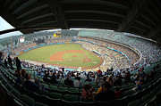 Dodger Stadium Photos - Dodger Stadium by Micah May