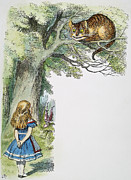 Women Children Framed Prints - Dodgson: Alice, 1865 Framed Print by Granger