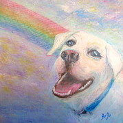 Jodie  Scheller - Dog Angel Over The...