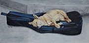Mary Rogers Prints - Dog Day Afternoon Print by Mary Rogers