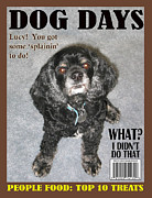 Magazine Cover Digital Art - Dog Days Magazine by John Haldane