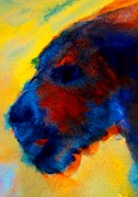 Individuals Prints - Dog Gogh Print by Hilde Widerberg