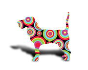Kids Room Art Posters - Dog Poster by Mark Ashkenazi