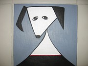 Sandra McHugh - Dog with red collar