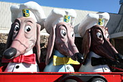 Doggie Diner Dogs - 5d20931 Print by Wingsdomain Art and Photography