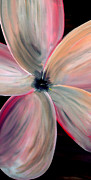 Silver Moonlight Paintings - Dogwood Bloom by Mark Moore