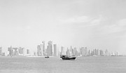 Large Format Prints - Doha bay February 2013 Print by Paul Cowan