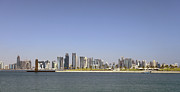 Paul Cowan - Doha skyline panorama