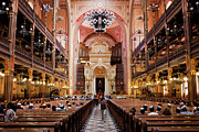 Synagogue Photos - Dohany Street Synagogue in Budapest by Artur Bogacki