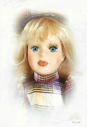 Graphics Paintings - Doll 626-12-13 marucii by Marek Lutek - marucii